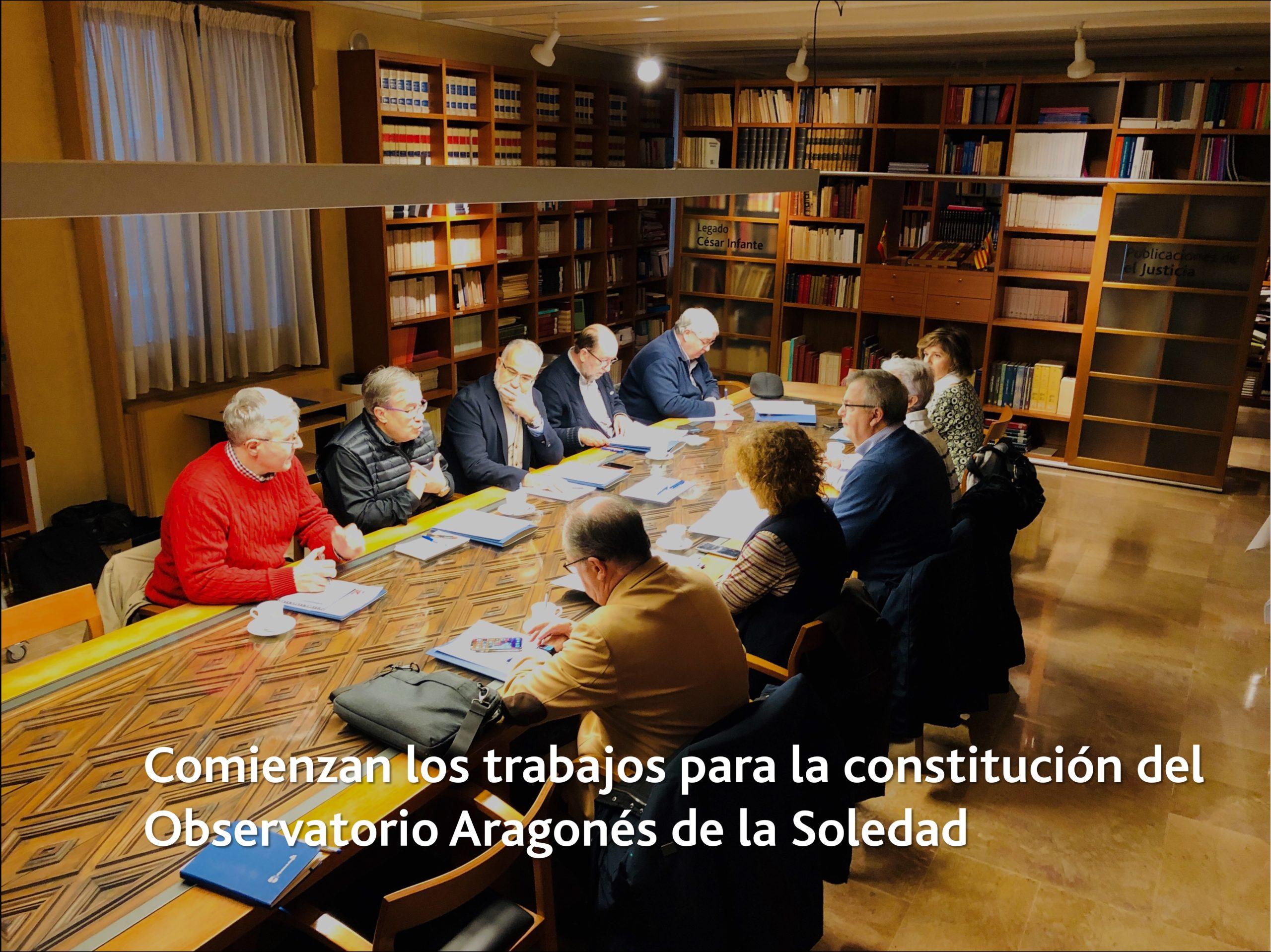 Comienzan los trabajos para la constitución del Observatorio de la Soledad en Personas Adultas Mayores