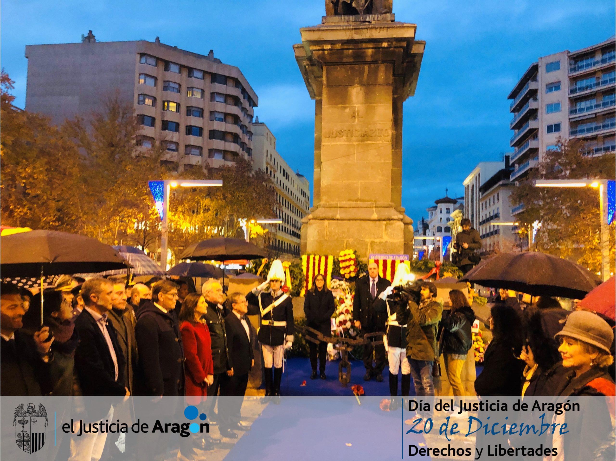 El Justicia de Aragón celebra a lo largo de toda esta semana el 20 de Diciembre con actos culturales y divulgativos