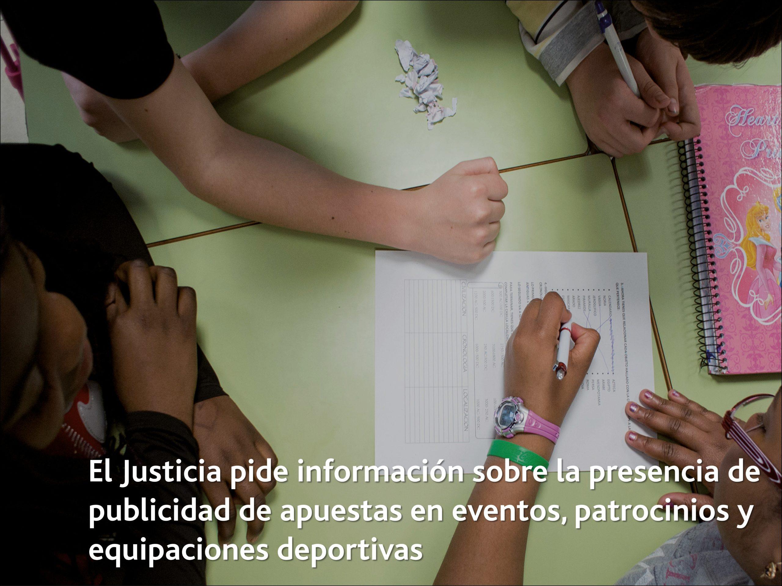 El Justicia pide información sobre la presencia de publicidad de apuestas en eventos, patrocinios y equipaciones deportivas