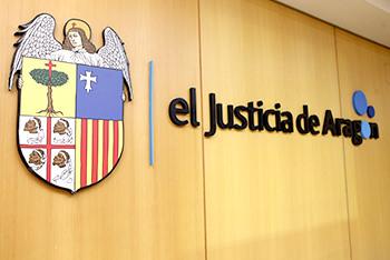 El justicia de Aragón escudo y texto