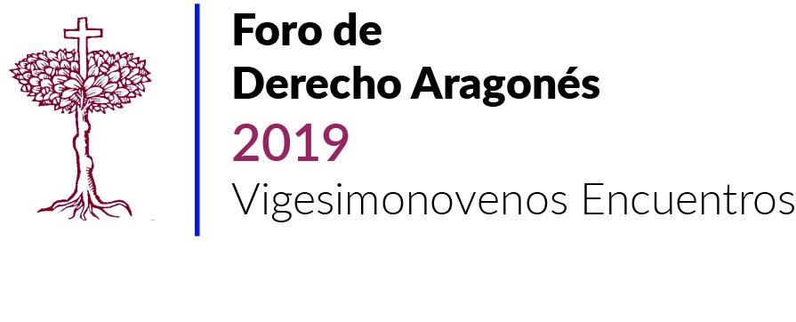 foro de derecho aragonés 2019 vigesimonovenos encuentros_2