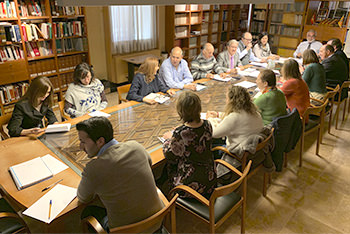 Estructura mesa reunión