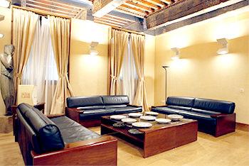 Palacio de Armijo estancia sofás