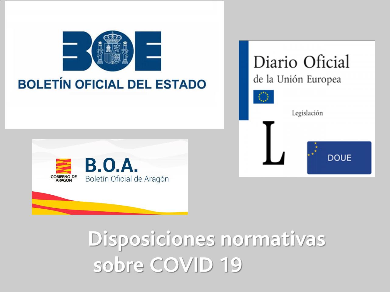 Normativa COVID19