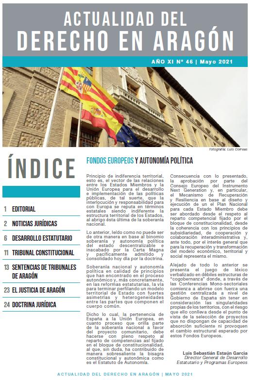 Actualidad del Derecho en Aragón